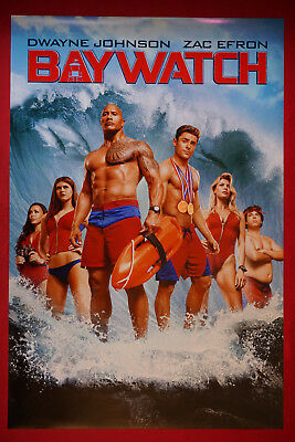 24x36 - Ilfenesh Hadera Baywatch Movie Poster Daddario v7 Kelly Rohrbach