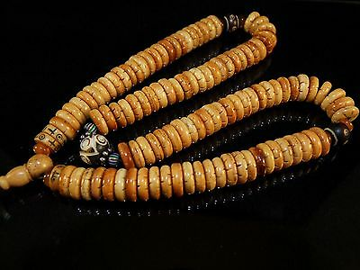 Handmade 108 PCS Antique Tibetan Buddhism Prayer Beads