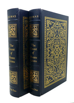 Alexandre Dumas THE COUNT OF MONTE CRISTO Easton Press 1st Edition 1st Printing