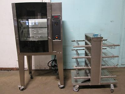 """""""resfab Lm-24A"""" Hd Commercial (3Ph) Electric Digital Chicken/rib Rotisserie Oven"""