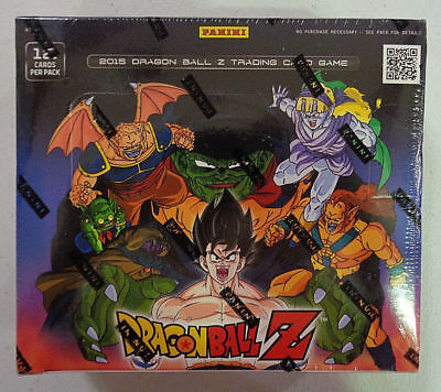 2015 DBZ Dragonball Z  Movie Collection Sealed Booster Box TCG Game 24 Pack