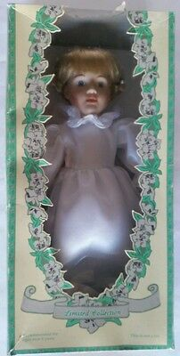 "Limited Collection Genuine Porcelain Doll 16""  Bride"