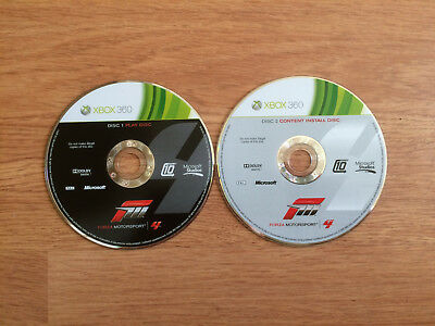 Forza Motorsport 4 for Xbox 360 *Discs Only*