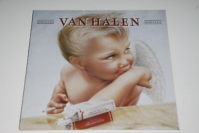 "Van Halen - MCMLXXXIV  1984 EU - Vinyl 12"" LP OIS WB 92-3985-1 washed & cleaned"
