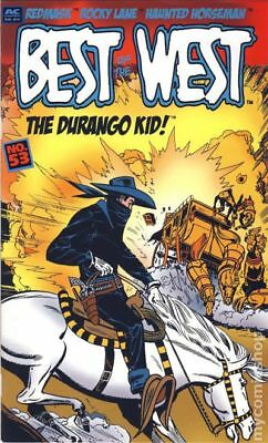 Best of the West (AC Comics) #53 2005 VF Stock Image