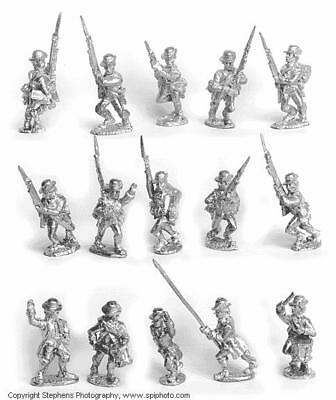 Old Glory AWI 25mm Continental Marines w/Command Pack MINT