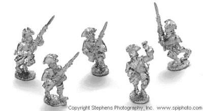 Old Glory French & Indian Wars 25mm French Line Infantry - Advancing Pack MINT