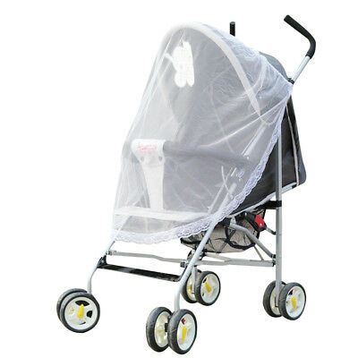 Baby Stroller Pushchair Mosquito Insect Net Safe Infants Protection Mesh