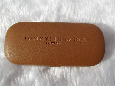 Used - Tommy Hilfiger brown glasses case & new cloth - proceeds to charity