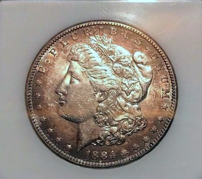 1884-S $1 Morgan Silver Dollar