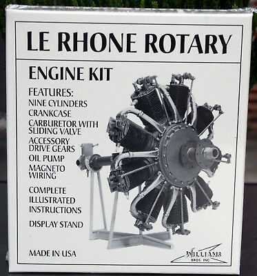 Le Rhone 80 PS Sternmotor, 1:8, Williams Brothers 30100