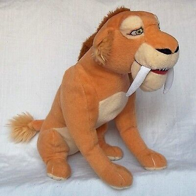 ICE AGE  DIEGO SOFT PLUSH TOY  sabre tooth tiger