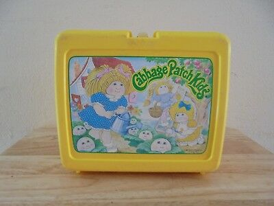 Vintage Cabbage Patch Kids Plastic Lunchbox - No Thermos
