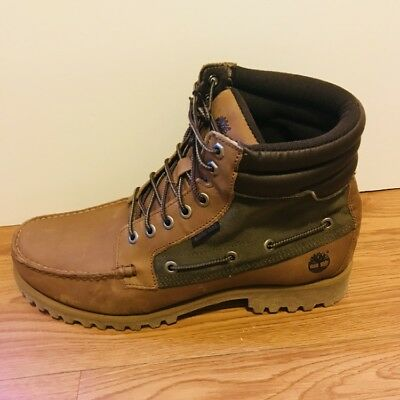 728a08de9b1 TIMBERLAND 26571 Oakwell 7 Eye Moc Toe Lace-Up Ankle Boots Men's ...