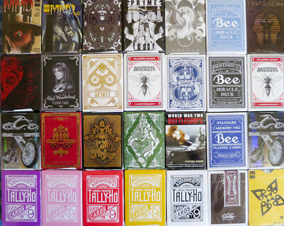 Deck of Playing Cards - Collectable & Rare Designs Bicycle / USPCC / System 6