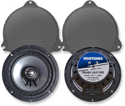Hogtunes Replacement 6.5 Front Speakers For 2014-2016 Harley Touring 362F-Rm