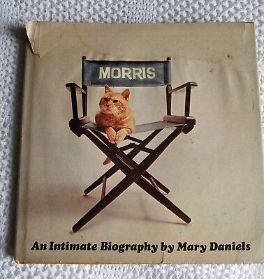 1974 Morris the Cat 9-Lives cat food HBDJ book Mary Daniels