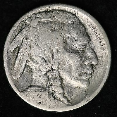 1921-S Buffalo Nickel CHOICE G FREE SHIPPING E221 CM