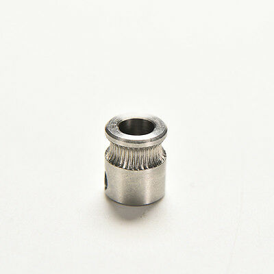 MK8 Extruder Drive Gear Hobbed For Reprap Makerbot 3D Printer Stainless Steel^~^