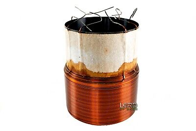 "3"" Quad 2 Ohm Voice Coil 8 Layer  Subwoofer"