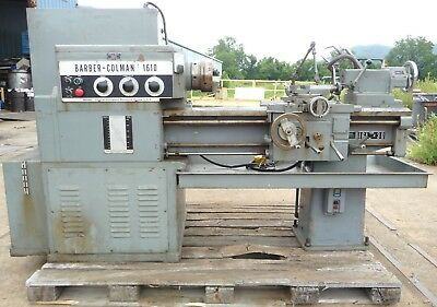 Amazing Barber Coleman 1610 Lathe In Extraordinary Condition!