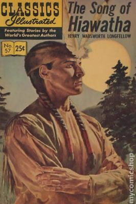 Classics Illustrated 057 The Song of Hiawatha #11 1968 VG 4.0 Stock Image