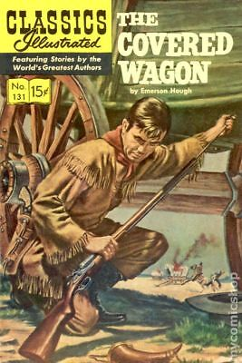 Classics Illustrated 131 The Covered Wagon #4 1964 GD/VG 3.0 Stock Image