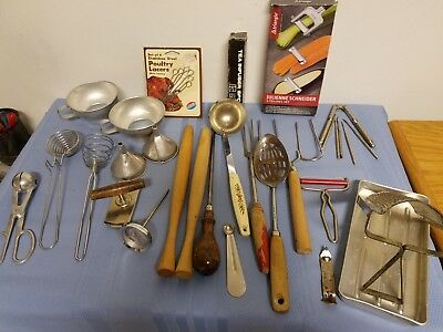 Vintage Mixed/Assorted Lot of Utensils and Gadgets