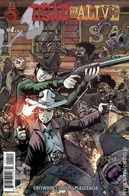 Dead or Alive (Red 5 Comics) #4 2012 VF Stock Image