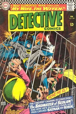 Detective Comics (1st Series) #348 1966 GD/VG 3.0 Stock Image Low Grade