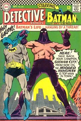 Detective Comics (1st Series) #355 1966 GD/VG 3.0 Stock Image Low Grade