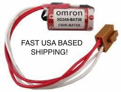 NEW Omron 3G2A9-BAT08 / C500-BAT08 PLC Battery FAST USA BASED SHIPPING!!