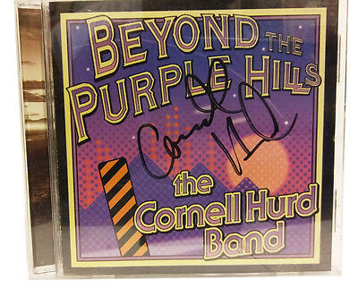 Beyond the Purple Hills by The Cornell Hurd Band SIGNED CD LIKE NEW