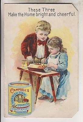 1905 Booklet - Campbell's Varnish Stain - Carpenter-Morton Co. Boston