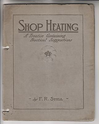 1911 Booklet - Shop Heating - American Blower Company - Detroit Michigan