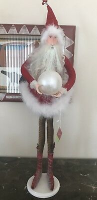 "Krinkles Patience Brewster Dept 56 Christmas Figure Santa Elf Retired 31"" RARE!"