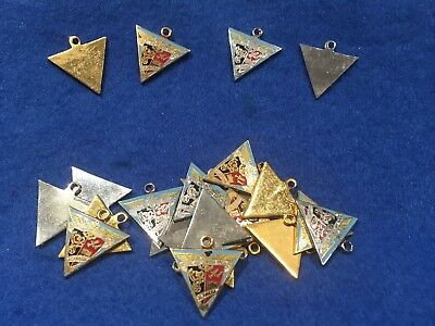 Lot of 23 1970's Vintage Alameda US Naval Air Rework Facility Charms