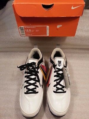 the latest 7f81e 47910 Nike Air Show Elite 2 Men Low Metal Baseball Cleat 414986-101 W Inserts