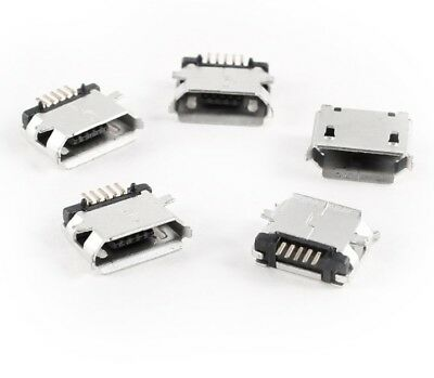 10pcs Micro USB Type B Female 5Pin SMT Socket Jack Connector USA SELLER