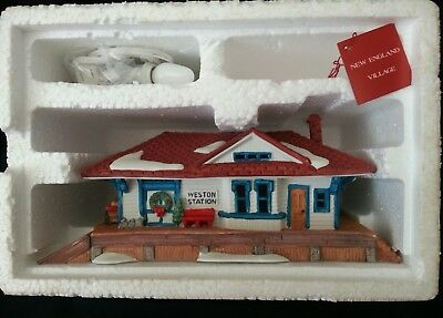 Dept, Department 56 NEV Weston Train Station