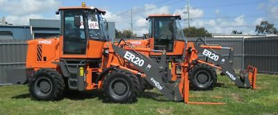 2000kg Capacity Diesel Loader - Everun ER20 4x4 - Not Bobcat, Dingo, Kanga