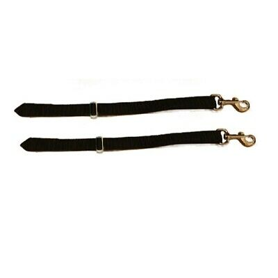 Heavy Duty Adjustable Horse Rug Leg Straps Pair Replacement/Spare