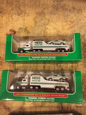 Mini HESS Collectible Toys - LOT OF 8 - new in box