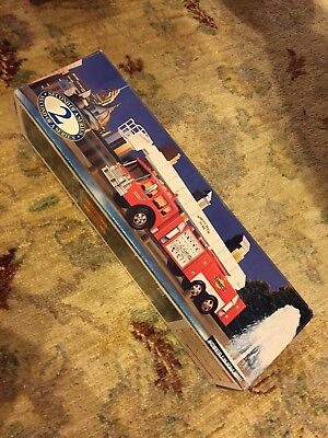Vintage 1995 Collector's Edition SUNOCO Aerial Tower FIRE TRUCK