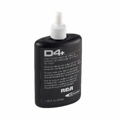 Brand New Discwasher D4+ Cleaning Solution Refill-1.25 Oz. Bottle 2 Pack