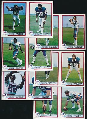1980 Bell's Market Buffalo Bills -COMPLETE SET (20) JIM HASLETT, JOE FERGUSON
