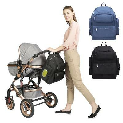 New Nappy Stroller Bag Large Capacity Baby Travel Backpack Nursing Baby Care