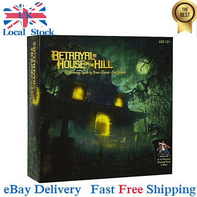 Betrayal at House on the Hill Board Game By Avalon Hill New-UK Local Stock