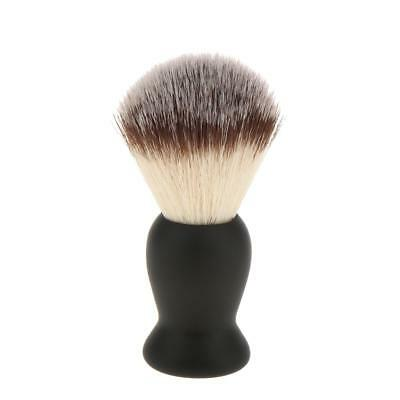 Soft Black Shaving Brush for Salon Barber Men's Hair Beard Dust Removal Tool