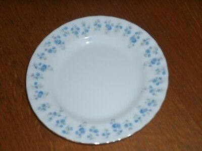 "5 x ""Royal Albert"" 6-1/4 inch Bone China Side Plates ""Memory Lane"""